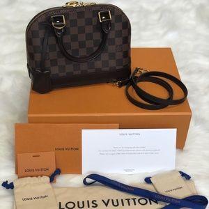 Louis Vuitton Alma BB - Damier Ebene